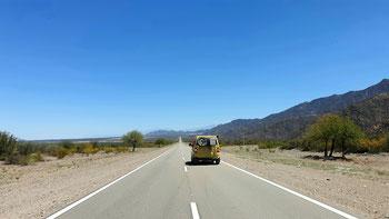 On the road again.... auf der Ruta 40