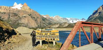 Start der Wanderung zum Paso del Cuadrado