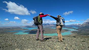 Geschafft: wir stehen auf dem Cerro Leon