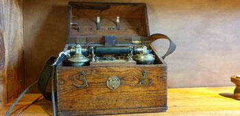 Das erste portable Telefon.