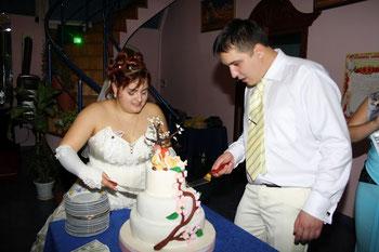 Свадебный торт в японском стиле