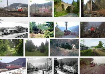 In Gedenken an die Innerstetalbahn, eine der landschaftlich schönsten Eisenbahnstrecken!