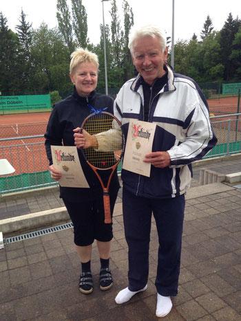 Die Sieger(innen) Birgit Herden und Wilhelm Reinking