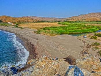 ZICHLIONTA BEACH – location of undisturbed activities
