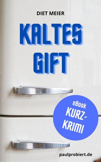 """Unter dem Autoren-Pseudonym Diet Meier entsteht im Podcast der Kurzkrimi """"Kaltes Gift"""", inklusive Anleitung, wie dieser als eBook weltweit verkauft werden kann"""
