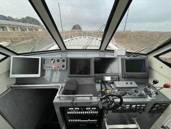 レーダー・GPSプロッタ・魚群探知機全て最新高性能モデル装備