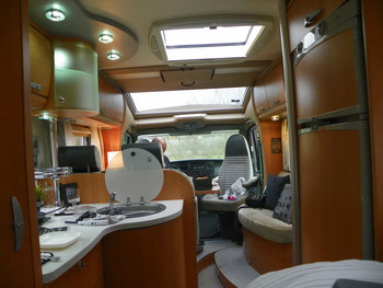 Knaus sun ti 650 mf wohnmobil reiseberichte mit unserem for Wohnmobil innendesign