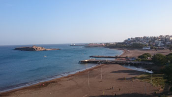 Praia da Gamboa and Ilheu Santa Maria