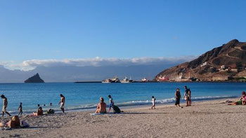 Laginha beach in Mindelo