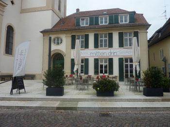 Begegnungszentrun & Cafe  mitten drin in Schriesheim