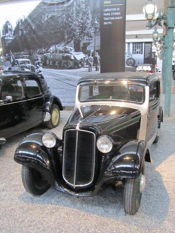 Adler Trumpf Junior uit 1939.