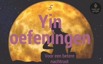 Yin Yoga voor een betere nachtrust
