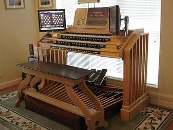 Un exemple d'installation d'orgue Hauptwerk
