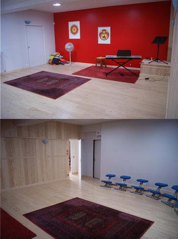 salle de stages et ateliers tours - salle de conference - agenda du bien-etre via energetica