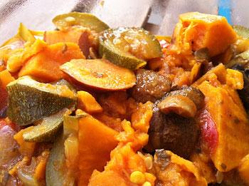 Süßkartoffel-Curry aus dem instant pot