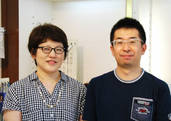 JAPONISM(ジャポニスム)・JN-589とBJ Classic(BJクラシック)・P-501をお求めいただきました、K様ご夫妻です。