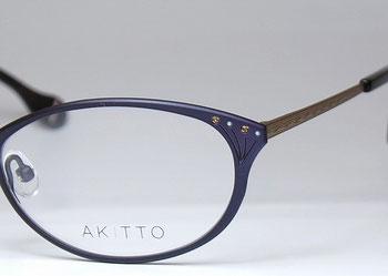 AKITTO(アキット)の新作フレーム・bal(バル)のご紹介です。