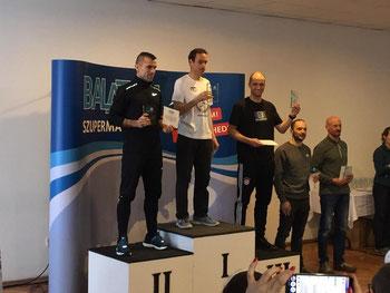Siegerehrung Balaton Supermarathon 2020