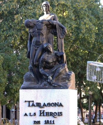 Прогулка по Нова Рамбла - Таррагона