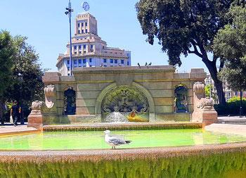 20 лучших фонтанов Барселоны