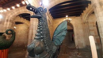 Драконы Барселоны - интересные факты