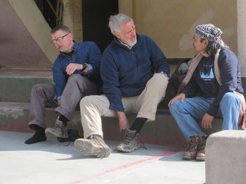 ADZ, Bob Wasson and Navin Juyal at Kali Math, Jan 2014