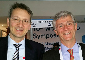 Leisure Cargo's new management duo Thilo Schaefer (left) and Klaus Sieger -  photo: hs