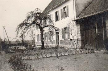 Gasthaus Bären mit Vorgarten