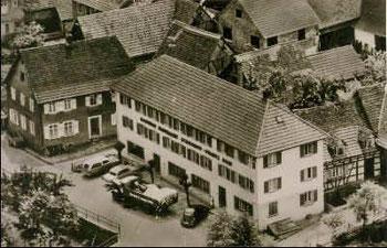 Nach dem Umbau 1954