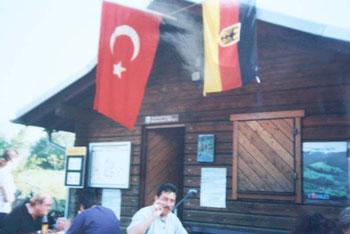 2002 Gemeinsames Sommerfest mit dem Angelsportverein
