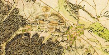 der Herrenweg anno 1797