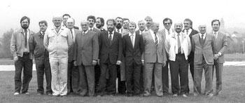 Ein Großteil der Aktiven 1988