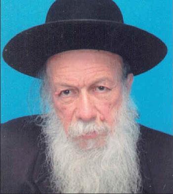 """Wie schon sein Vater L eo wurde der Malscher Jude Josua Gabel Rabbi und lebt heute in Rechasim/lsrael.  Das Schicksal seiner Eltern bedeutet für Ihn auch noch immer eine """"klaffende Wunde """". Foto: privat"""