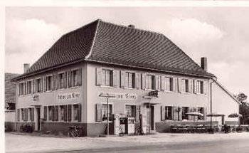 Gasthaus Kreuz mit Tankstelle
