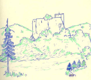 Zeichnung G. Bullinger 1976