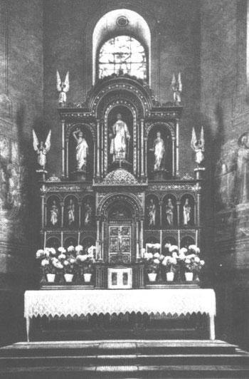 Ehemaliger Hochaltar in St. Cyriak