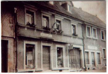 Ladengeschäft in der Hauptstraße (damals Adolf-Hitler-Straße), 1936