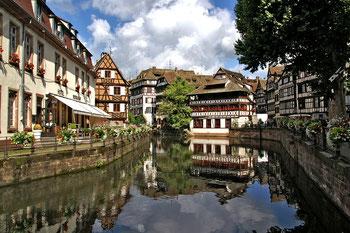 Elsass Ansicht näher Freiburg