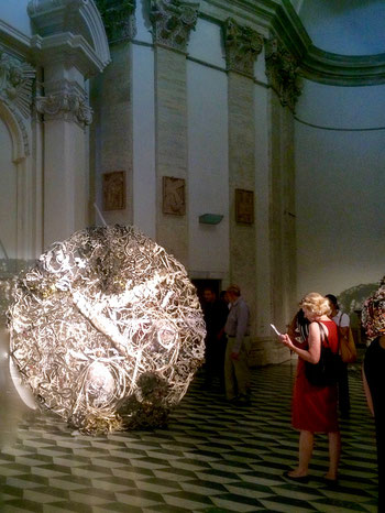 Susanne Kessler, Scudo, Sala Santa Rita, Roma - Foto Alessia Paionni