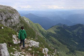 Tageswanderungen mit Kind in Slowenien