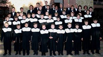 Der Wiesbadener Knabenchor 2006 beim Mozart-Konzert