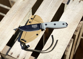 Outdoor Survival feststehende Messer ESEE Knives Bushcraft Prepper Selbstversorger