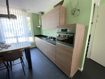 Legergroen Keuken Keukenplakken Keukenwrappen Nieuwe keuken