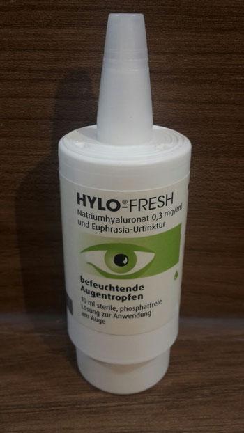Hylo Fresh im Test, Flasche (Sicca Syndrom, Trockene Augen)