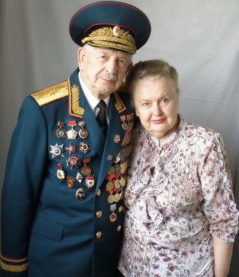С женой Тамарой Дмитриевной