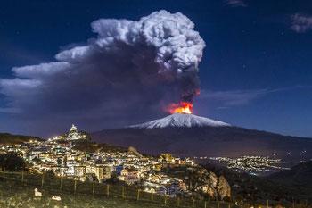 Etna, ultima eruzione 2016