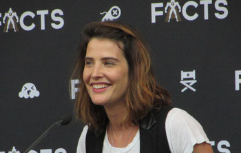 Cobie Smulders at FACTS convention