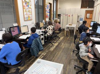 世田谷パソコン教室授業風景