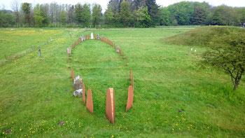 Das Wikingergrab bei Baekke