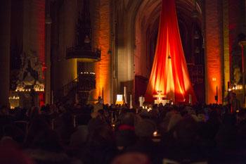 Auch im vergangenen Jahr füllten zahlreiche Besucher bei der Nacht der Lichter den Eichstätte; Fotos: Anika Taiber-Groh